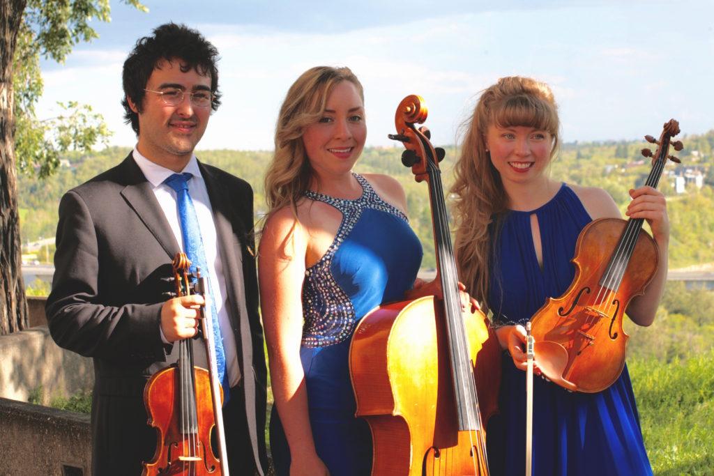 Eric Auerbach, Violin; Jenny Crane, Cello; Minja McKenna, Viola